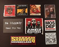 East Coast 90s/2000s Rap Promos (Mos Def, Jeru The Damaga, Das Efx, Monch,Roots)