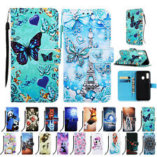 For Samsung Galaxy A10e/ A20e Card Wallet Flip Leather Phone Stand Case Cover