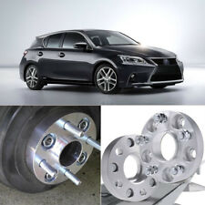 2pcs 5X100 54.1CB 25mm Hubcenteric Wheel Spacer Adapters For  Lexus CT 2011
