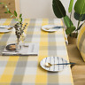 Nordic Tablecloth Flax Dust-Proof Table Cover for Kitchen Dinning Tabletop
