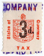 (I.B) Guernsey Revenue : Sales Tax 3d (German Occupation)