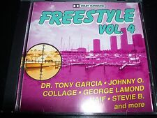 Freestyle Vol 4 Various CD Dr Tony Garcia Johnny O Stevie B George Lamond