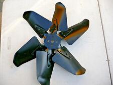 """1955 Ford Mercury factory air 18"""" six blade fan   marked  FoMoCo 55 ac"""