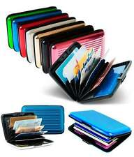 1 Piece Aluminium Wallet Cash Credit Card Holder Unisex Wallet Purse