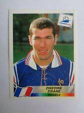 Zinedine ZIDANE  France Sticker # 164 - Panini France 1998 - excellent condition