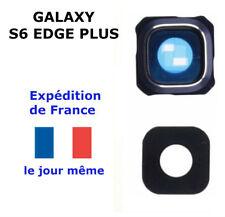 Camera Arrière GALAXY S6 EDGE PLUS BLEU - Vitre en verre Lentille Photo SM-G928F