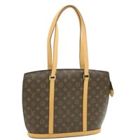 LOUIS VUITTON Monogram Babylone Tote Bag M51102 LV Auth yk501
