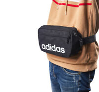 adidas Linear Core Waist Bag Fanny Pack Sack Cross Body Casual Bag Black DT4827