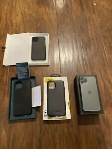 iphone 11 pro midnight green 64gb With Cases