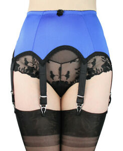 Lace Suspender Belt Hand Made Garter Belt with 6 straps Our Deep Lace2