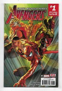 Avengers 2017 #1 Very Fine