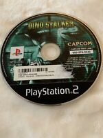 Dino Stalker Black Label (Sony PlayStation 2, 2002) PS2 Disc only Rare!