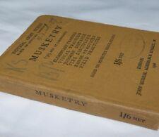 WW1 1918 LEE ENFIELD RIFLE MANUAL GUN BRITISH MUSKETRY NORMAAL SCHIETSCHOOL.303