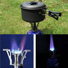 Portable Camping Hiking Foldable Steel Stove Gas Burner Camping Outdoor Picnic