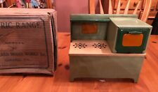 Girard Model Works Toy Electric Range Stove Oven Metal Vintage Working Condition