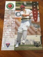 Trevor Barsby 1995 Futera Sheffield Shield Queensland Bulls Cricket Card