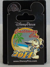 Disney Cruise Line DCL Captain Mickey Mouse Palm Ship Castaway Cay 2014 Pin