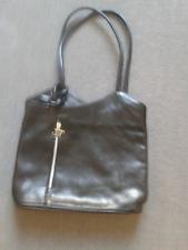 Black Tuscany Leather Firenze Bag
