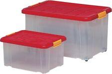 EUROBOX 55l 60x40x30cm Caja Grande Almacenamiento de con tapa