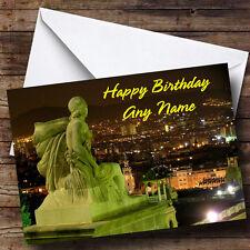 Barcelona España Personalizado Cumpleaños tarjeta de saludos