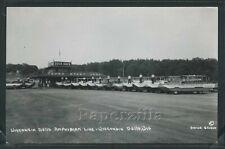 Wi Wisconsin Dells Rppc 1950's Amphibian Duck Boats Duck Dock by Brown Studio