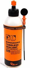 Orange Seal Endurance Tubeless Bike Tire Sealant 8oz Twist Lock Injector Bottle