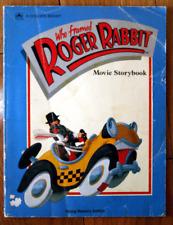 Who Framed Roger Rabbit Movie Storybook 1988 A Golden Book - Walt Disney - Acme