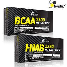 Olimp BCAA 1100 Mega Caps Amino Acids Protein Anticatabolic Formula Recovery 60 Capsules