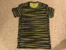 NEW NWT Nike Baselayer Cool Predator Top Shirt Dri-Fit Mens Medium, Yellow/Black