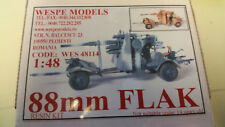 88mm Flak Wespe Resin Models 1:48 Wes 48114