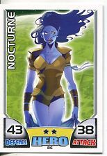Marvel Hero Attax Series 1 Base Card #86 Nocturne