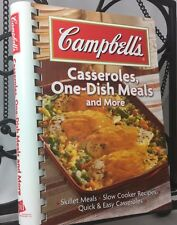 """Cookbook """"Campbell's Casseroles, One-Dish Meals and More"""", 2006"""