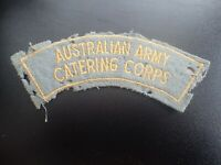 Australian Army Catering Corps Badge Patch Shoulder Flash (D)