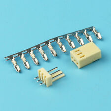 10sets KF2510 3Pin Connector Kits 2.54mm Male Pin Header+Terminal+Female