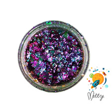 Nail Art Flake Powder by Mitty - Galaxy