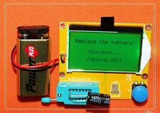 Mega328 Transistor Tester Diode Triode Capacitance ESR Meter MOS PNP/NPN M328