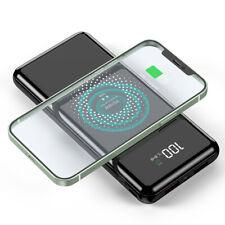 Qi Wireless Power Bank 900000mAh Portable 18W Fast Charging External Battery