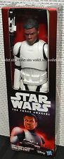 "Hasbro Star Wars The Force Awakens 12"" Figure Stormtrooper Finn (FN-2187)"
