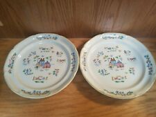 "Set of 2 Heartland International Stoneware 11"" Dinner Plates Country 7774"
