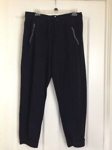 TEK Gear Women Ultrasoft Fleece Mid Rise Sweatpants Straight Black Size L NWT