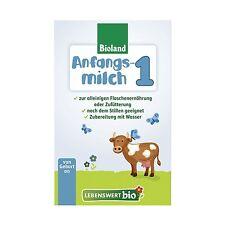 HOLLE Lebenswert Bio First Infant Milk Stage 1 Organic - 8 Boxes  500g (17.6oz)