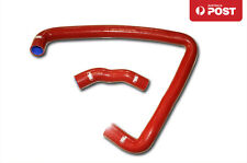 For Nissan Fairlady 300ZX Z32 VG30DETT Silicone Radiator Hose Kit 1990 -1996 Red