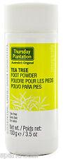 Thursday Plantation Australian Tea Tree FOOT POWDER Talc Free 100g