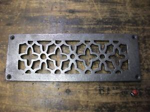 CAST IRON AIR VENT AIR BRICK GRILLE COVER – repair