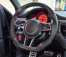 Carbon Fiber Steering Wheel For PORSCHE MACAN CAYENNE PANAMERA 991 918 997 718