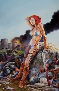 The Invincible Red Sonja #1 Paralel Evren Istanbul Exclusive Variant Canga