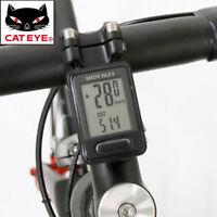 Computer per bici bicicletta Cat Eye Velo 9 velocità distanza orologio calorie