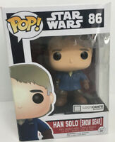 Funko Pop! Star Wars Lootcrate Exclusive Bobblehead Han Solo Snow Gear #86