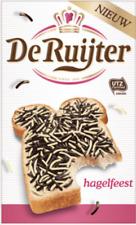 (13,15€/kg) 3x De Ruijter Hagelfeest Vanille Vollmilchschokolade Streusel 380g