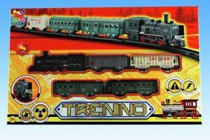 Trenino Treno Pista Rotaie Vagoni Gioco Giocattolo Bambini sar